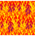 pattern fire vector image