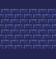 pixel brick wall seamless pattern wallpaper stone vector image