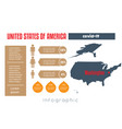 universal template for infographics with united vector image