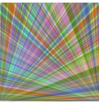 Abstract colorful background of radial rays vector image