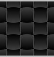 3d curve tile seamless pattern black 002 vector image vector image