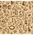 Coffee time seamless background grunge for your