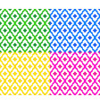 colorful thai pattern set vector image