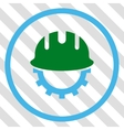 Development Hardhat Icon vector image vector image