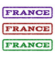 france watermark stamp vector image