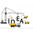 Modern Idea Concept for your Business vector image