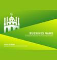 mosque muslim icon simple background design vector image vector image