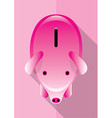 Save Money Piggy Poster vector image vector image