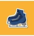 skating sport design vector image vector image