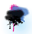 colorful-grunge-banner vector image