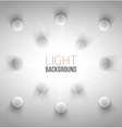 Abstract background with white circles vector image vector image