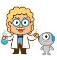 DoctorRobot vector image vector image