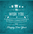 festive typographic background vector image vector image