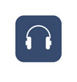 headphone icon flat ui design vector image