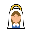 Maria icon Merry Christmas design graphic vector image vector image