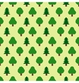 Seamless pattern of forestry tree vector image vector image