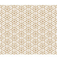 seamless traditional kumiko pattern vector image
