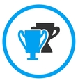 Trophy Cups Icon vector image vector image