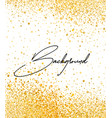 abstract gold romantic vector image vector image