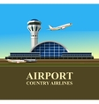 airport building vector image vector image