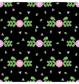 Cute flower floral seamless pattern vector image
