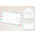 Envelope detailed - realistic vector image vector image