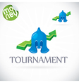 Finance Tournament vector image