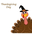 Holiday turkey on Thanksgiving Day vector image vector image