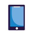 smartphone device gadget technology isolated icon vector image vector image