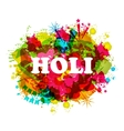 DJ party banner for Holi vector image