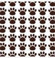 foot print mascot pattern vector image
