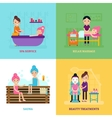 Beauty Salon People Concept vector image