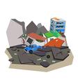 earthquake2 vector image vector image