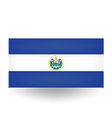 El Salvador Flag vector image