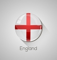 European flags set - England vector image vector image