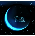 Happy Diwali the celebration of Hindu community vector image vector image