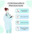 Infographics measures to prevent coronavirus