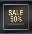 sale banner layout design vector image vector image