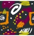 seamless pattern brush strokes vector image