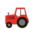 tractor farming icon image vector image vector image