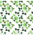 Watercolor hydrangea pattern vector image vector image