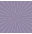 Violet sunburst with ray of light Template vector image