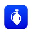clay jug icon digital blue vector image vector image