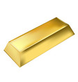 gold bar vector image vector image