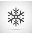 Icon Christmas snowflakes for holiday season vector image