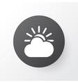 sunlight icon symbol premium quality isolated sun vector image