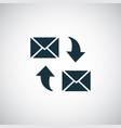 e-mail icon trendy simple concept symbol design vector image