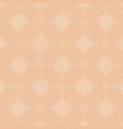 beige lace background with rhombuses vector image