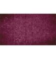 Burgundy abstract mosaic background vector image vector image