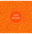 card with birthday vector image vector image